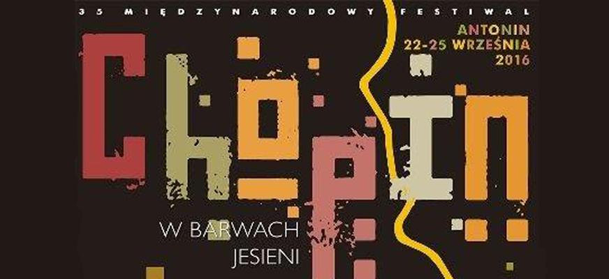 """35. Międzynarodowy Festiwal """"Chopin w barwach jesieni"""""""