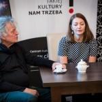 """""""Man of the Light"""" – spotkanie z Anetą Norek, autorką książki o Zbigniewie Seifercie, oraz z Joachimem Kühnem"""