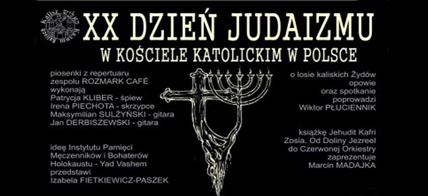 XX Dzień Judaizmu – wykład i recital