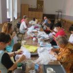 haftowanie - denka i bandy czepca