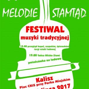 plakat festiwal Melodie stamtąd