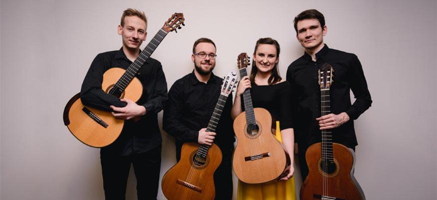 10. Festiwal Akademia Gitary – koncert Erlendis Quartet
