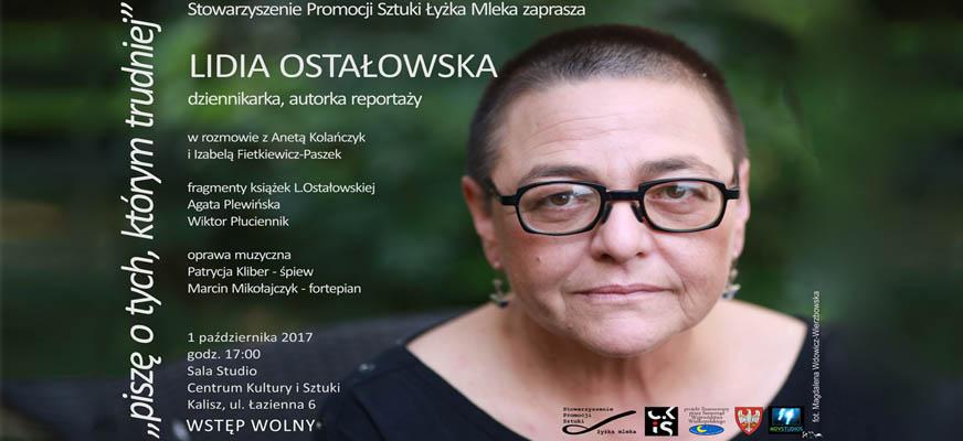 Spotkanie z Lidią Ostałowską