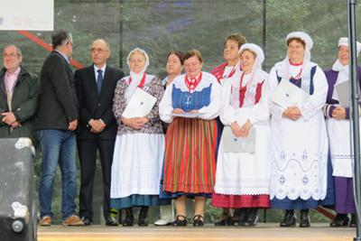 Nagrodzeni na Przeglądzie w Dziekanowicach