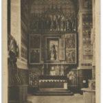 Tryptyk starożytny w kościele św. Józefa