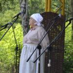 śpiewaczka Krystyna Melczak z Dąbrowy