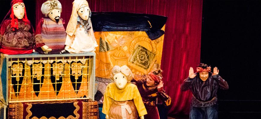 Spektakl dla dzieci pt.: ALI BABA I CZTERECH ROZBÓJNIKÓW – Wędrowny Teatr Lalek MAŁE MI z Warszawy