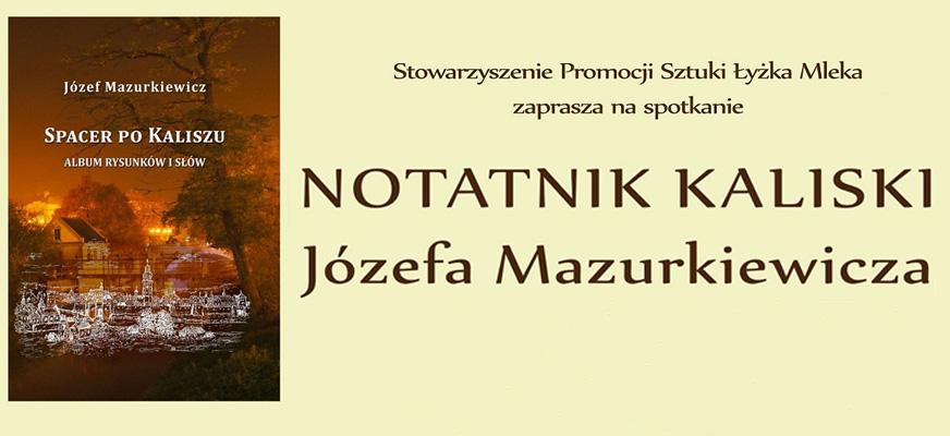 Notatnik kaliski Józefa Mazurkiewicza