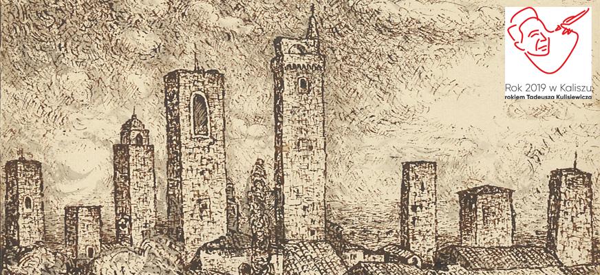 """Fotoplastikon. """"Włoska podróż Tadeusza Kulisiewicza. Szkicownik 1937"""""""
