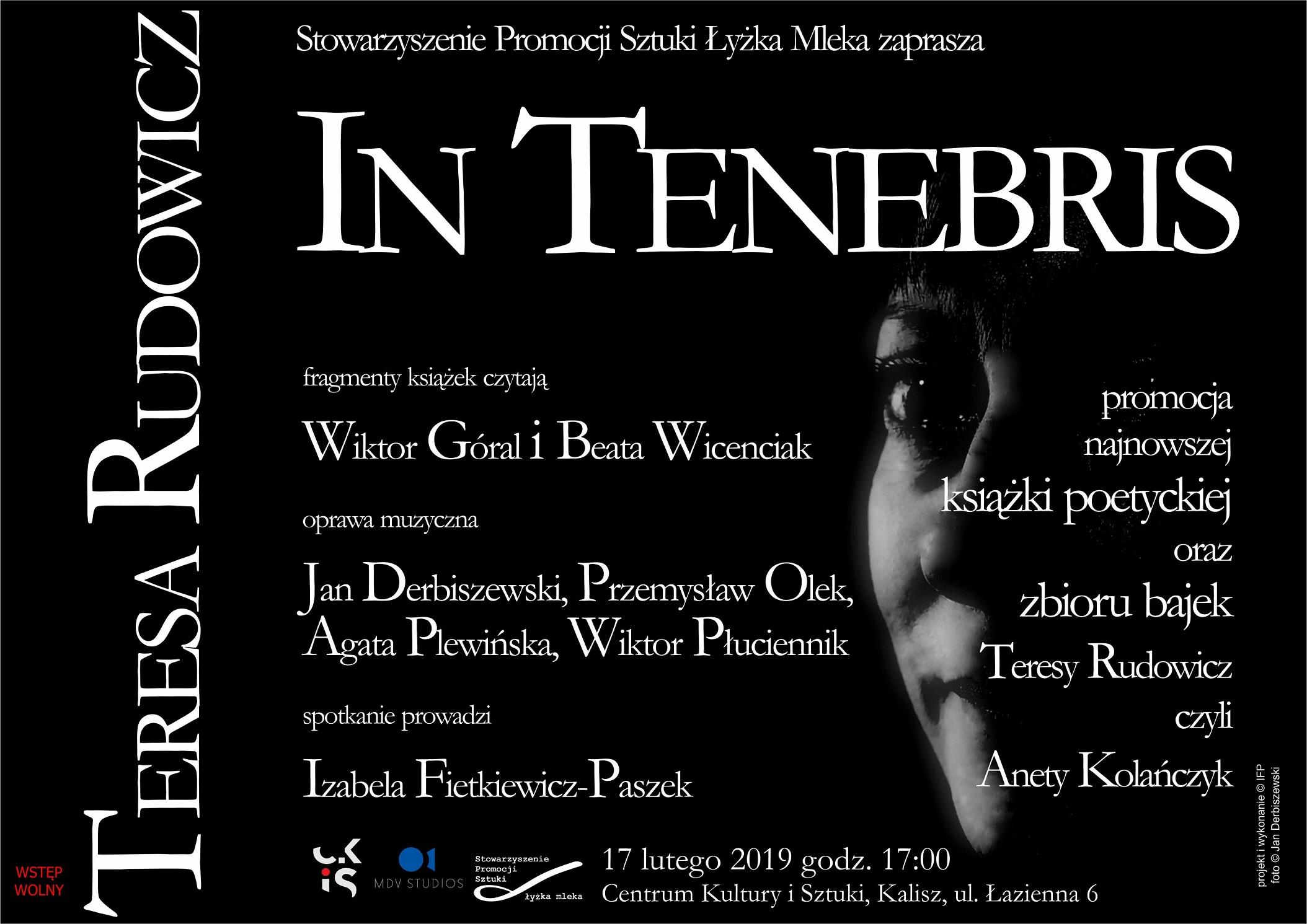 Teresa Rudowicz In Tenebris Centrum Kultury I Sztuki W
