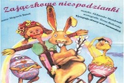 Zajączkowie niespodzianki -spektakl Teatru Banasiów z Warszawy @ ul. Łazienna 6