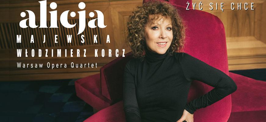 Koncert – Alicja Majewska i Włodzimierz Korcz z towarzyszeniem Warsaw Opera Quartet