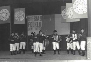 BRZEZINY na Biesiadzie Folkloru 1985 w Jarocinie