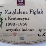 tablica Magdaleny Figlakowej