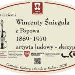 tablica Wincentego Śnieguli z Popowa