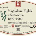 tablica Magdaleny Figlakowej z Krotoszyna