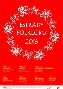 Estrady Folkloru 2016 plakat