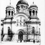 na fot.: Cerkiew p.w. św. Piotra i Pawła istniejąca w latach 1877 - 1920 / za archiwum CKiS w Kaliszu