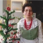 Jolanta Majorowicz i jej ozdoby choinkowe, fot. J.Majorowicz