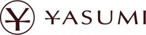 logo yasumi i napis obok
