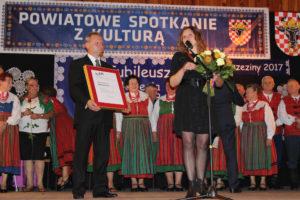 Życzenia od CKiS w Kaliszu, fot. Powiat Kaliski
