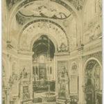 Sanktuarium św. Józefa: polichromia młodopolska (1904 r.) w nawie głównej, zniszczona przed 1966