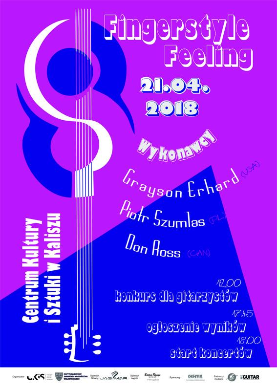 Fingerstyle Feeling Festival – festiwal gitary akustycznej @ ul. Łazienna 6
