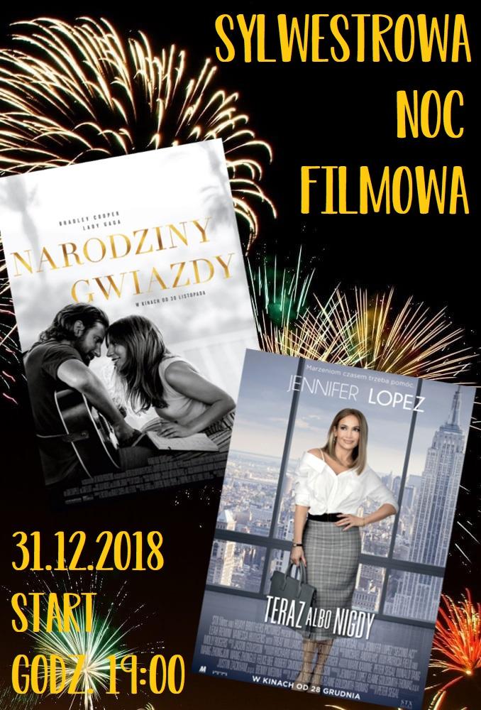 Sylwestrowa Noc Filmowa w Centrum Kultury i Sztuki @ ul. Łazienna 6