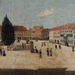 A. Lehman, Rynek w Kaliszu, 1833
