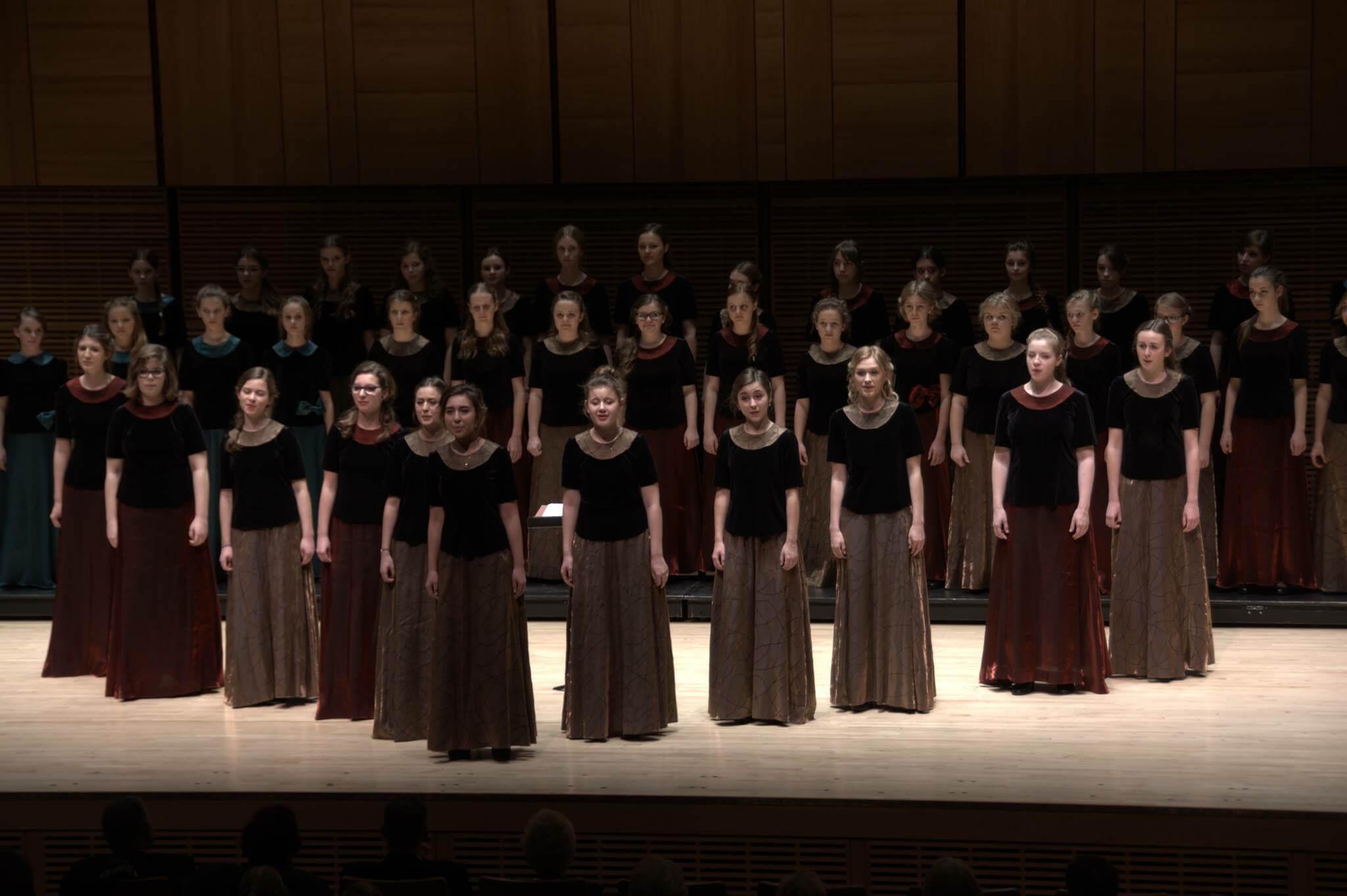 Skowronki w Carnegie Hall Nowy York, grudzień 2015