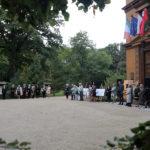 Uroczyste złożenie kwiatów pod pomnikiem Fryderyka Chopinav