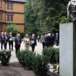 Uroczyste złożenie kwiatów pod pomnikiem Fryderyka Chopina