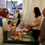 Targi sztuki ludowej Jolanta i Honorata Majorowicz, ozdoby tradycyjne